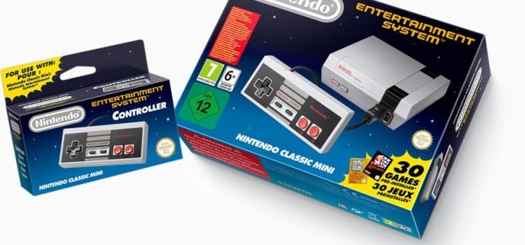 "Breaking News: Nintendo annuncia ""Nintendo Classic Mini"""