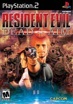 resident evil dead aim cover