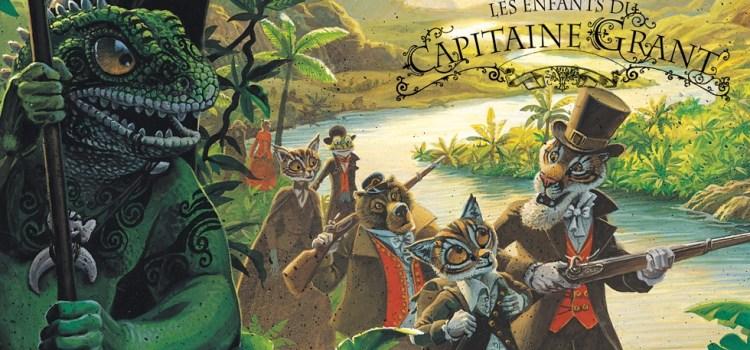 Viaggio al centro di Jules Verne – I figli del capitano Grant di Alexis Nesme