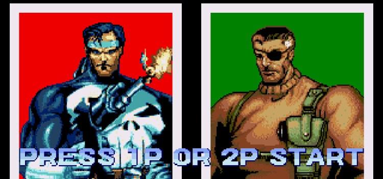 The Punisher - Sega Mega Drive
