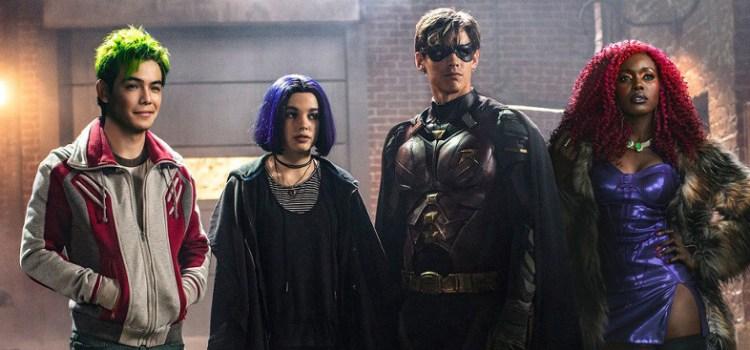 Titans: chi <del>ben</del> dark comincia…