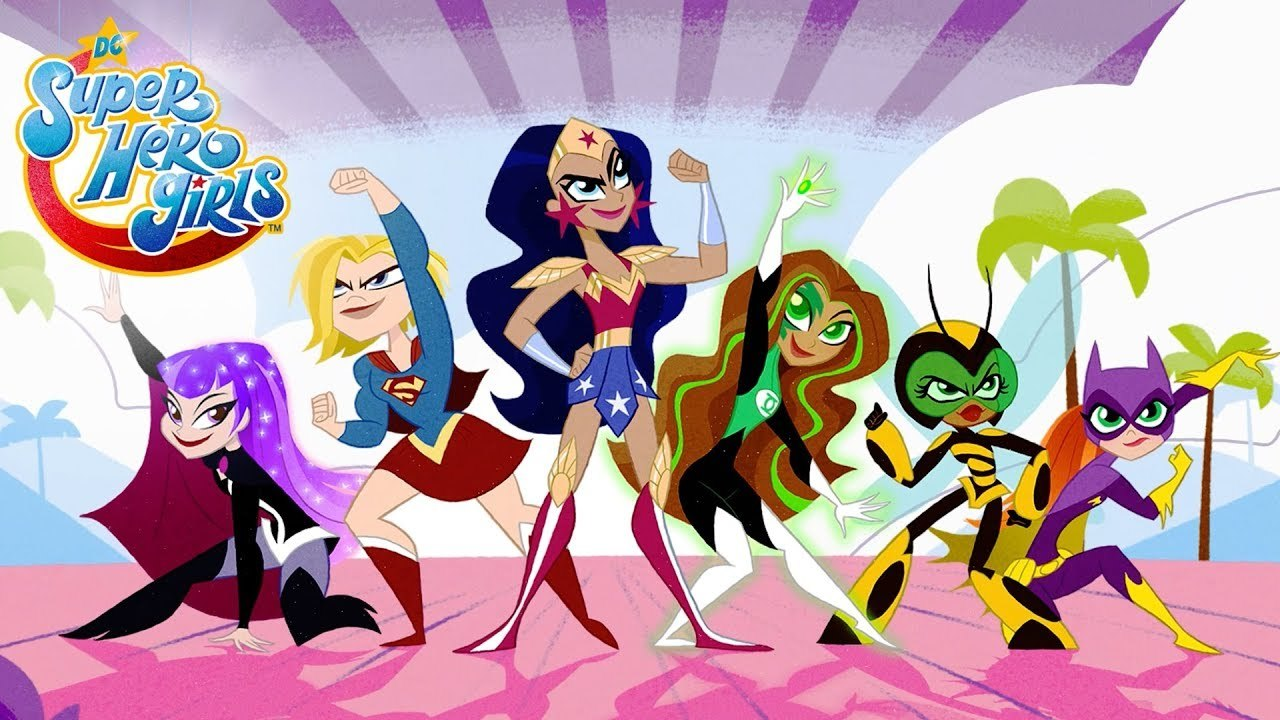 DC Superhero Girls on Showmax