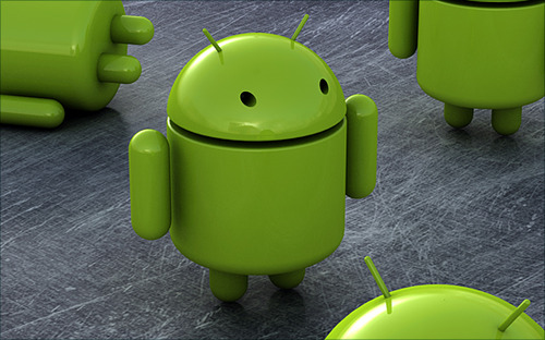 Android-robots-green