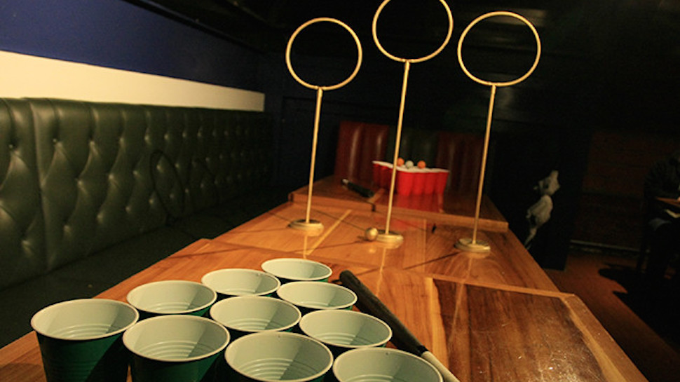 Image result for quidditch pong