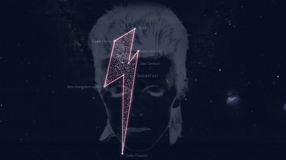"David Bowie Gets a ""Constellation"" from Belgian Astronomers"