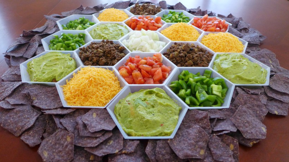 Nerdist Super Bowl Eats: Settlers of Catan Nachos
