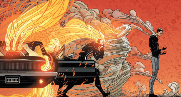 All-New Ghost Rider from Marvel Comics