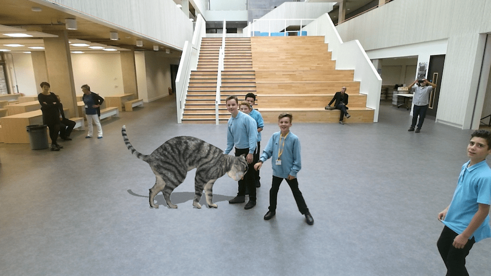 Meet Cinder the Augmented Reality Cat Who Runs a School