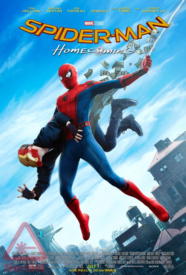 Finale Spider-Man Homecoming poster