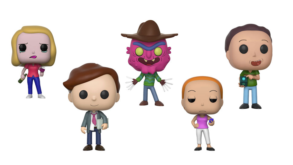 More RICK AND MORTY Funko POP! Figures Are Squanching Our Way
