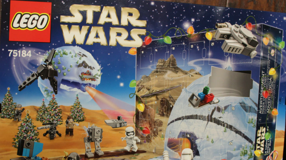 LEGO s 2017 STAR WARS Advent Calendar is Strong with the Festive     LEGO s 2017 STAR WARS Advent Calendar is Strong with the Festive Force   Review