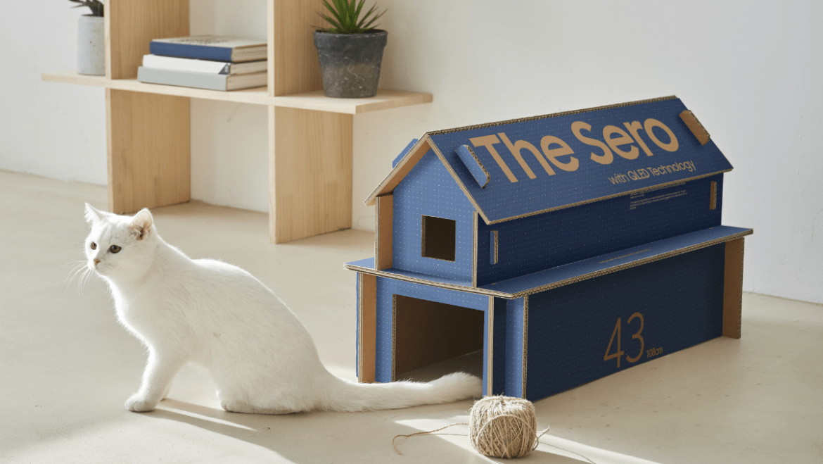 Samsung Designs Boxes to Double as Cat Houses - Nerdist