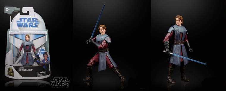 The Black Series Clone Wars Anakin Skywalker captures the Chosen One in his Clone Wars heyday.
