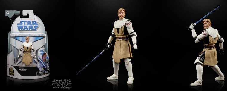General Kenobi, Jedi leader of the Clone Army, is the latest in the Star Wars Black Series.