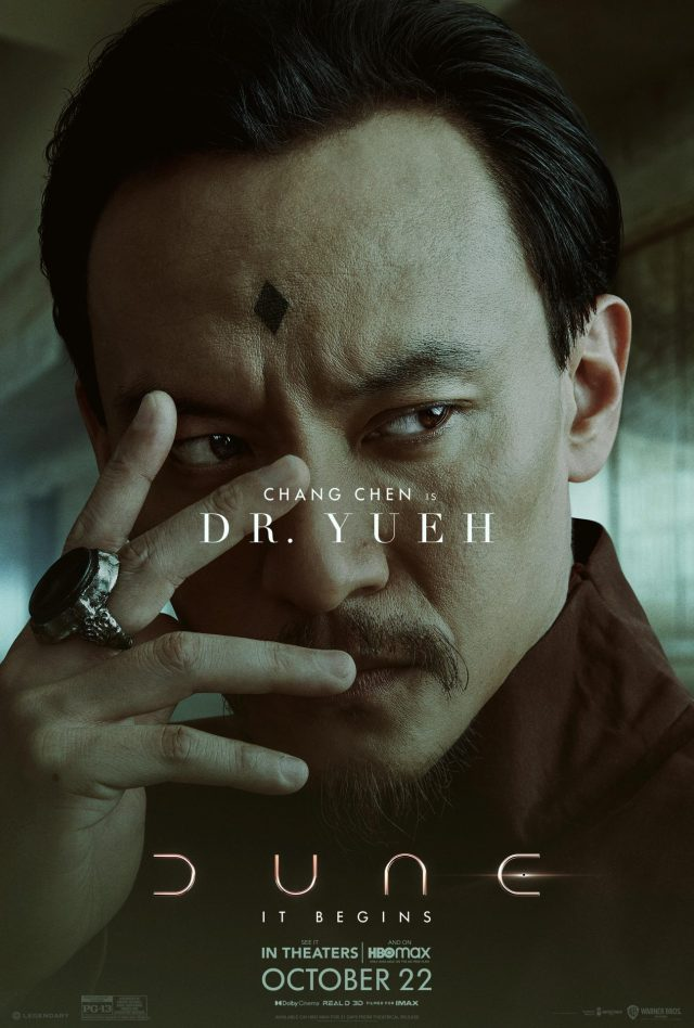 Dune character poster depicting Dr. Yueh