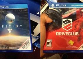 Capas de jogos do PS4