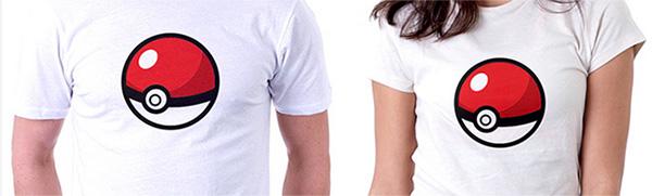 Camiseta Pokémon