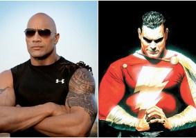 The Rock dá a entender que será Shazam nos cinemas