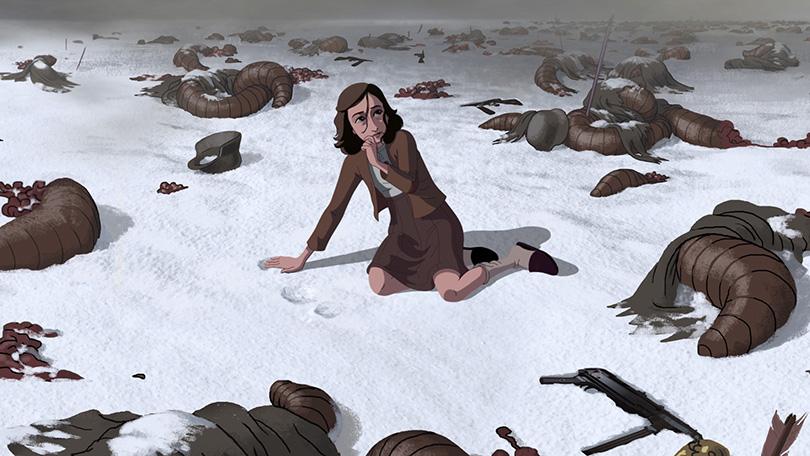 Animação de Anne Frank tem primeiras imagens divulgadas
