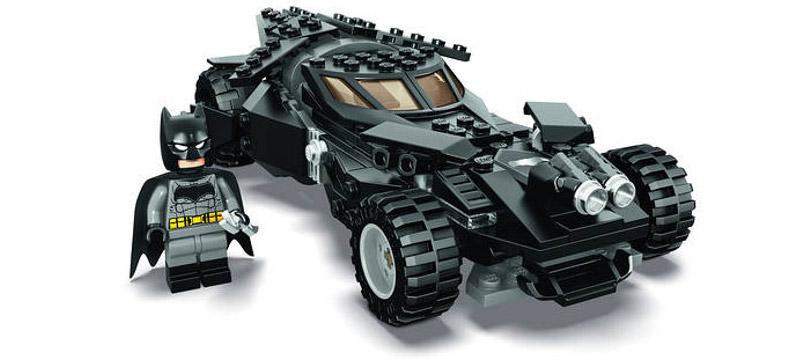 LEGO Batmóvel inspirado no filme Batman Vs. Superman
