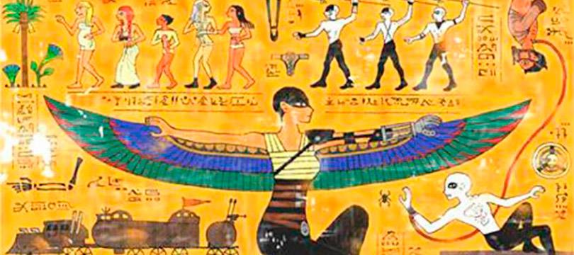 Artista recria história de Mad Max com hieróglifos egípcios