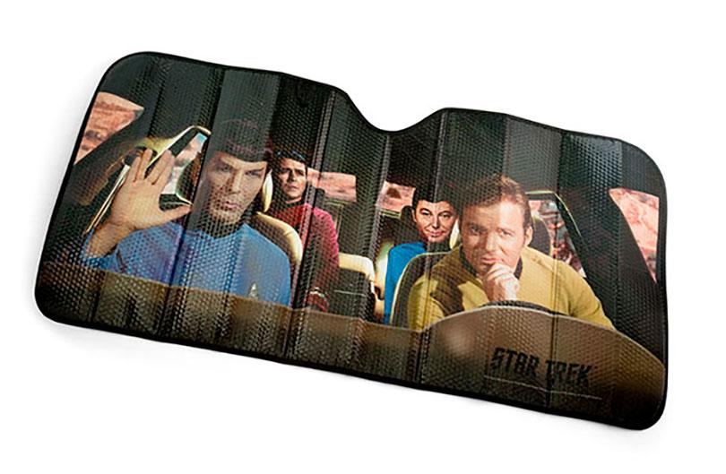 Para-sol do Star Trek estrela os personagens da clássica saga