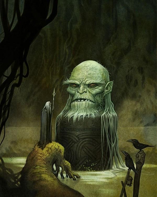 Deusas e deuses nórdicos, por Johan Egerkrans