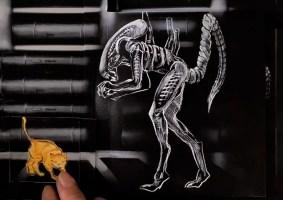 Alien Flipbook: Uma viagem de 40 anos da franquia