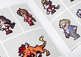 Livro FF DOT detalha a pixel art da série Final Fantasy