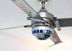Ventilador do Star Wars traz asas de X-Wing e globo de R2-D2