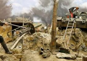 O maior diorama de guerra: Cenas da Segunda Guerra recriadas com detalhes