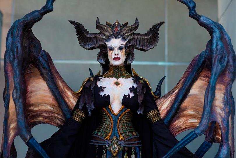 Este cosplay de Diablo 4 é simplesmente magnífico
