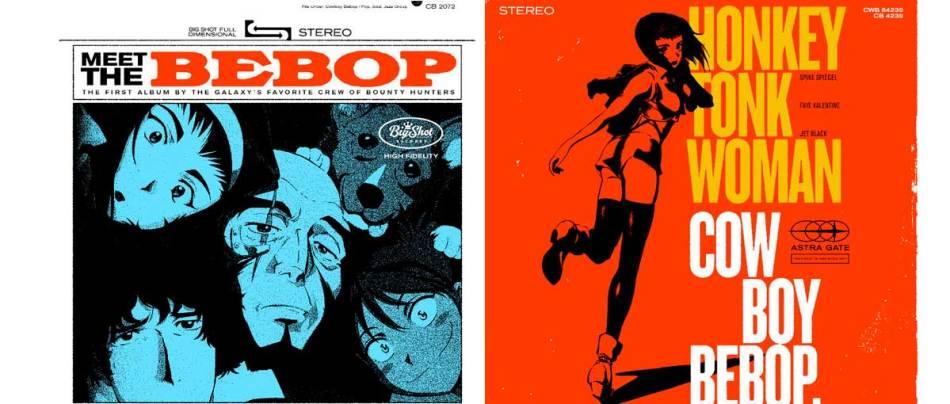 Capas de discos de Cowboy Bebop