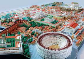 LEGO da Roma Antiga recria a capital do Império