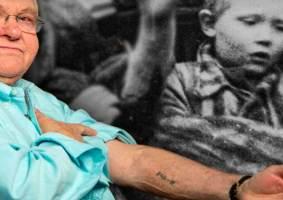 A mensagem para as futuras gerações de uma criança que sobreviveu a Auschwitz