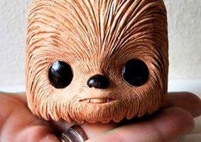 Chewbacca e Groot se unem em um pequeno vaso