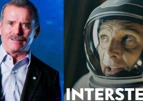 Astronauta analisa filmes de espaço cientificamente