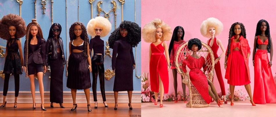 Barbie celebra a beleza da mulher negra com nova coleção