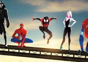 Homem-Aranha: No Aranhaverso como animação old school
