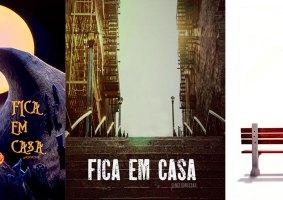 #ficaemcasa personagens somem de pôsteres de filmes diante da pandemia