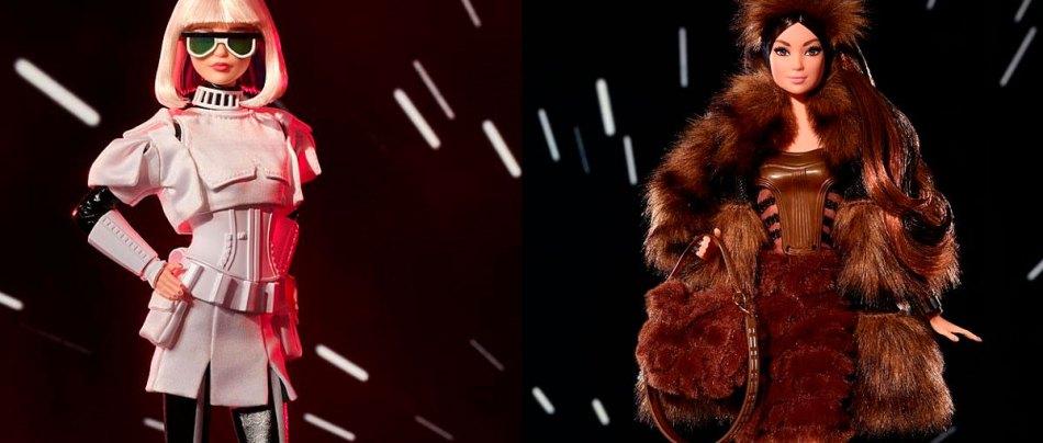Mattel introduz quatro novas Barbies do Star Wars