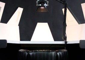 Uma mesa da câmara de meditação do Darth Vader