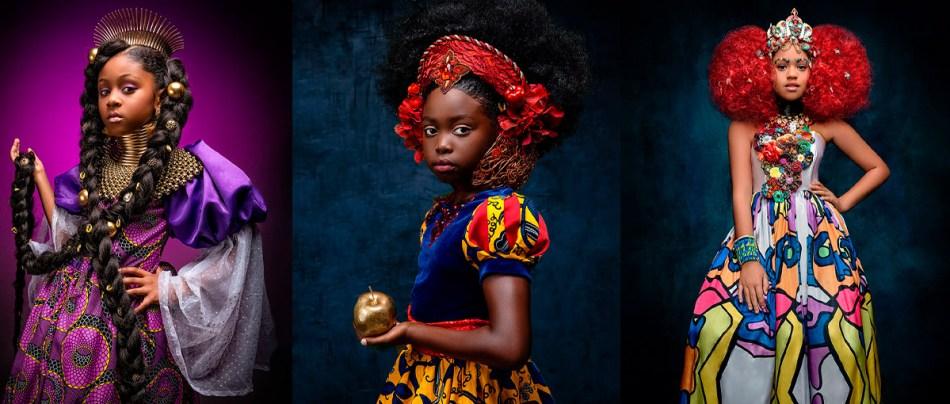 Princesas Disney se fossem negras em fotografias