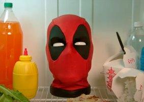 Cabeça do Deadpool de brinquedo não é para crianças