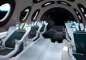 Veja o projeto da nave espacial para turismo da Virgin Galactic
