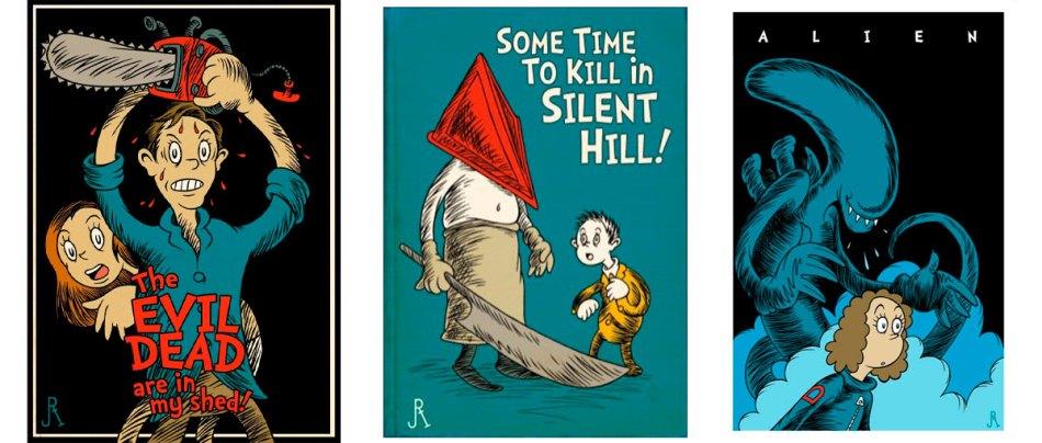 Filmes de terror inspirados no Dr. Seuss