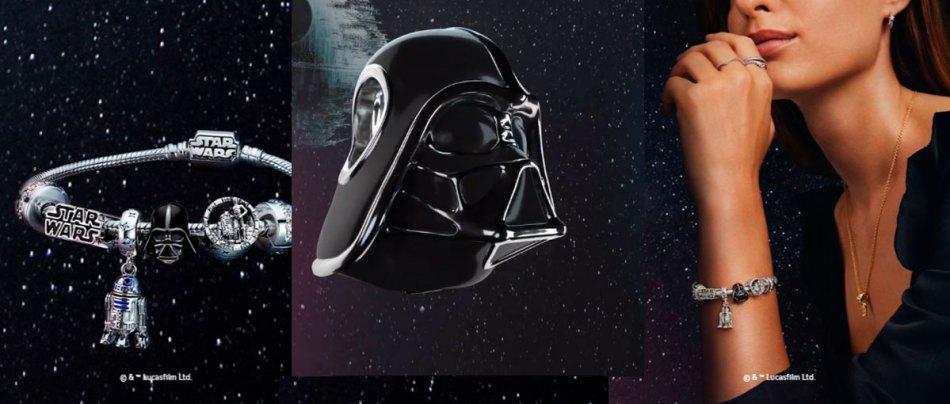 A coleção de joias do Star Wars da Pandora