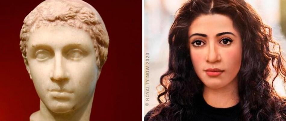 Figuras históricas como pessoas modernas