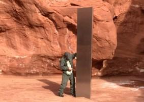 O monolito misterioso encontrado em Utah
