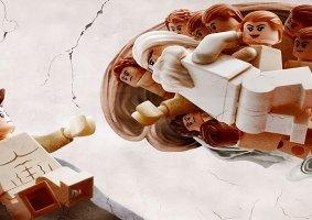 Artista recria pinturas clássicas com LEGO